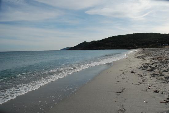 plage de Barcaggio